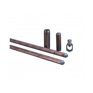 8 ft. Convenient Copper-Bonded Steel Bronze Ground Electrode Kit