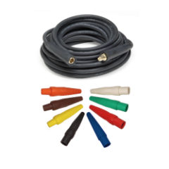 2 AWG 1/C Type W Power Cable w/ Cam-Lok M/F Ends