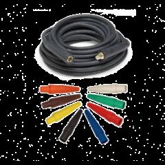 4/0 1/C Type W Power Cable w/ Cam-Lok M/F Ends, 25ft, 50ft, or 100ft