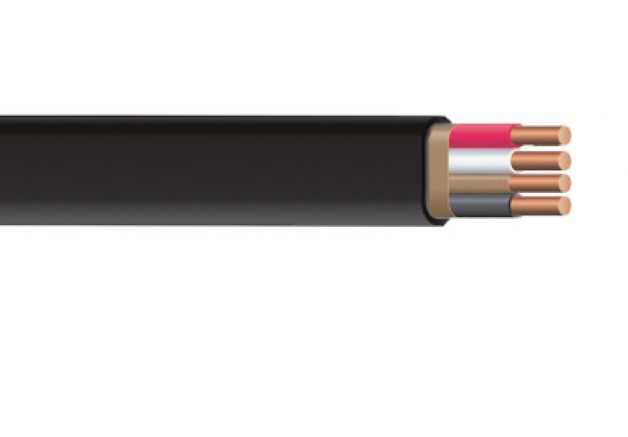 4mm Black Building Wire Electrical Cable BUY PER METRE !!!