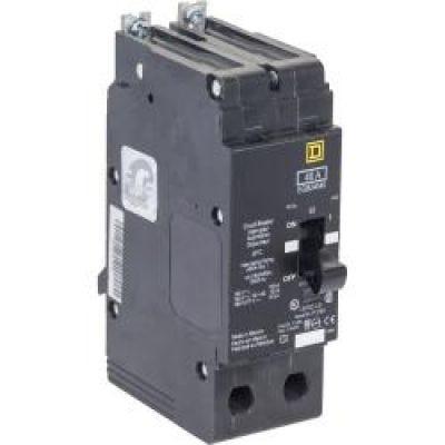 YC-2-3D with 6 Din Rail and 2 Screws Yuco Miniature Circuit Breaker D Curve 277//480VAC 115//220VDC 3 Pole, 2 Amp