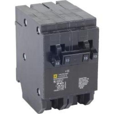 Tandem Plug in Circuit Breaker 2P 20//30 Amp 120//240Vac